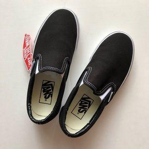 Vans classic slip-on black size 5